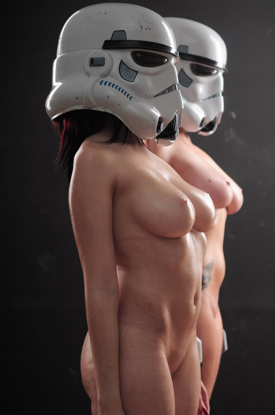 Cosplay naked star wars exposed picture