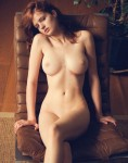Perfect breasts redhead