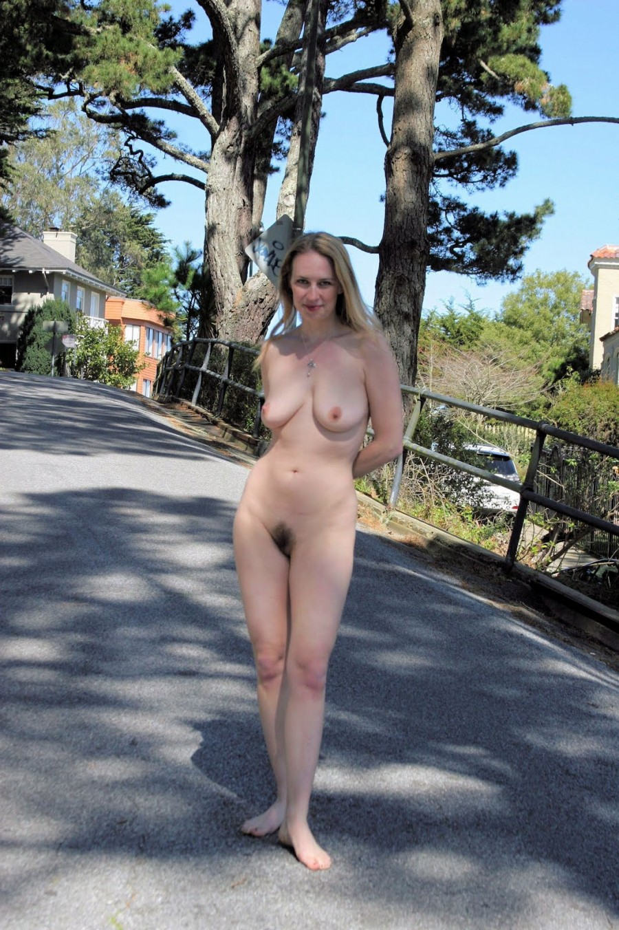Hot mom in public naked — photo 8